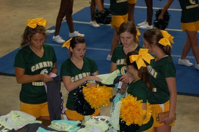 2016-2017 Cheerleaders at UCA Camp
