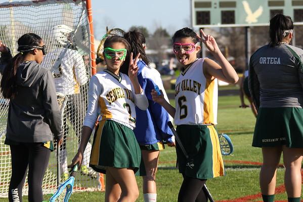 Girls JV Lacrosse Vs. BCC 3-21-16