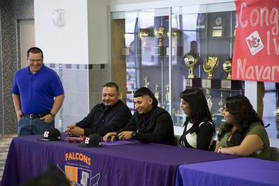 Eastlake High School Ivan Ulloa Baseball Signing