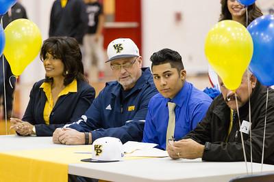 Socorro High School Oswaldo Godina Signing
