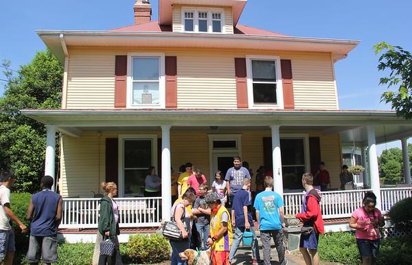 LFI trip to Marina's family farm 6-10-2016
