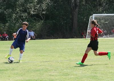 Middle School Boys Soccer 2015