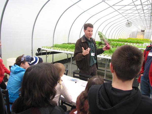 Mill Creek Urban Farm Volunteering [12-1-15]