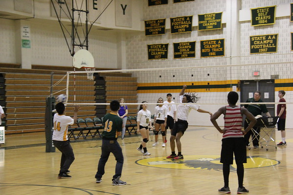 SV Coed Volleyball Vs. Poolesville 4-15-16