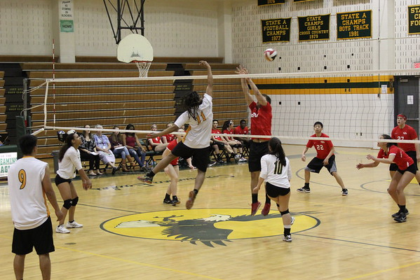 SV Coed Volleyball vs. Quine Orchard HS 4-20-2016