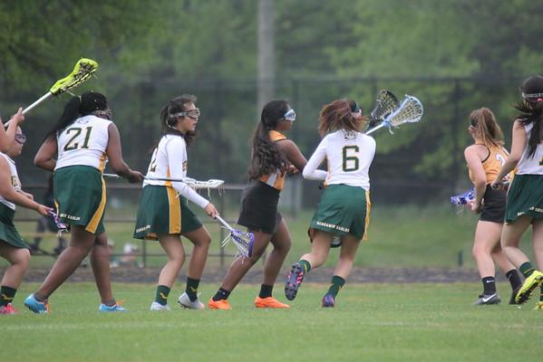 SV JV Girls  Lacrosse 4-27-2016