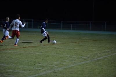 10/21/15 Wheatmore vs Providence Grove Boys Soccer