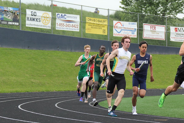 Urbana 3A West Regional Championships Day 1 May 18, 2016