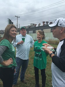 New Faculty Tailgate, Homecoming 2015