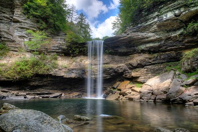 Greeter Falls in Tennessee