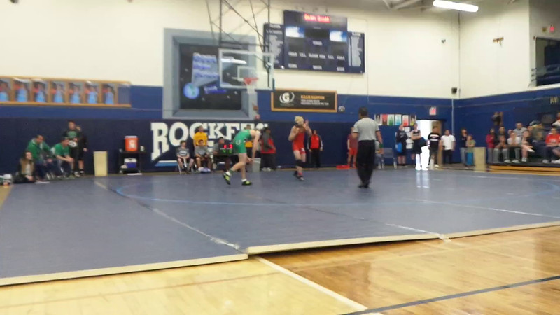 Julian vs Moriarity-District Tourney FEB-13-16