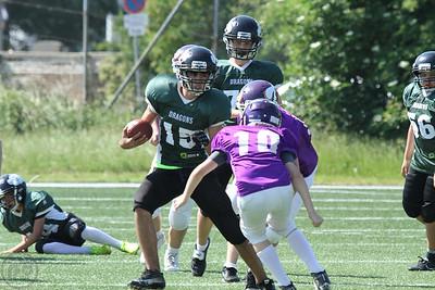 2015; AFBÖ; American Football; Danube Dragons; Vienna Vikings; U13; Youth