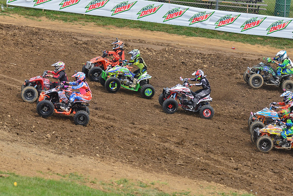 2015 ATVMX Rd4 High Point Youth