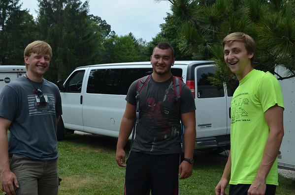 College Rafting Trip