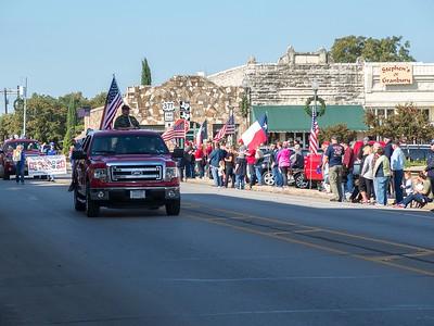 Veterans Day Parade Granbury