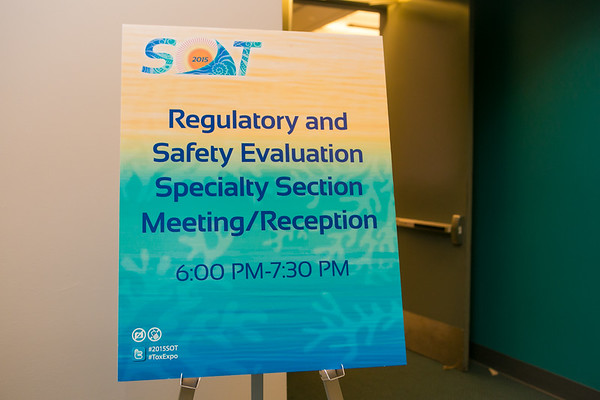 Regulatory and Safety Evaluation SS Meeting:Reception