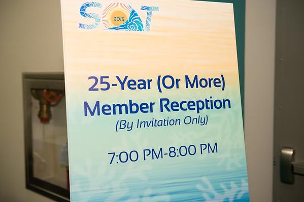 25 Year Member Reception
