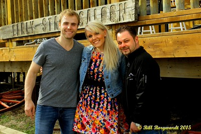 Adam Gregory, Alyssa McQuaid, Trevor Saprikin - Early Stage Saloon 2015 #111