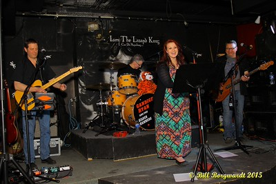 Candice Ryan and the Silver Hammers at Lizard Lounge #006