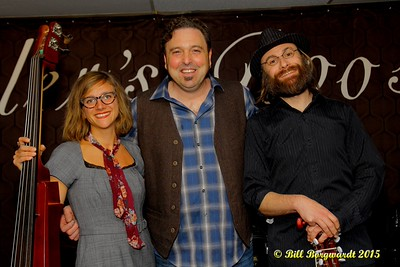 Michelle Boudreau, Jimmy Wiffen, Shawn Hillaby at Fiddlers Roost 108