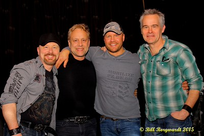 Colin Amey , Thomas Wade, Craig Moritz, Sean Hogan - Country Kicks Cancer 107