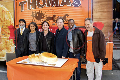 New York, NY - April 23:  A Toast To 135 Years Of Thomas' English Muffins at The Muffin House.