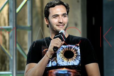 """New York, USA - April 17:  Jason Silva at The AOL Speaker Series, discussing Season 5 of """"Brain Games"""" on The National Geographic Channel at AOL Studios."""