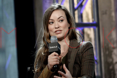 """New York, NY - April 17:  Olivia Wilde & Reed Morano at The AOL Speaker Series, discussing the film """"Meadowland"""" at AOL Studios."""