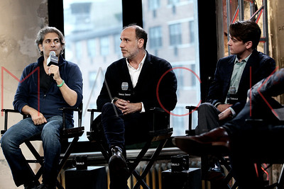 """NEW YORK, NY - APRIL 17:  AOL Build Speaker Series:  Vincent Piazza, Michael Imperioli And Nick Sandow, """"The Wannabee"""" at AOL Studios In New York on April 17, 2015 in New York City."""