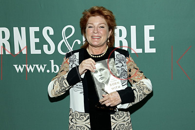 """New York, USA - April 15:   The Book Signing for Kate Mulgrew's """"Born With Teeth"""" at Barnes & Noble Union Square."""