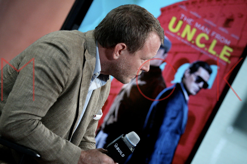 "Build Speaker Series: Discussing new film ""Man from U.N.C.L.E."", New York, USA"