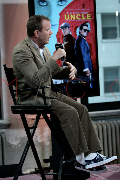 "Build Speaker Series: Discussing new film ""Man from U.N.C.L.E."", New York, USA"