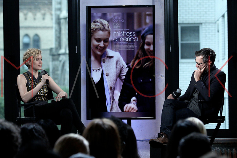 "Build Speaker Series: Discussing ""Mistress America"", New York, USA"