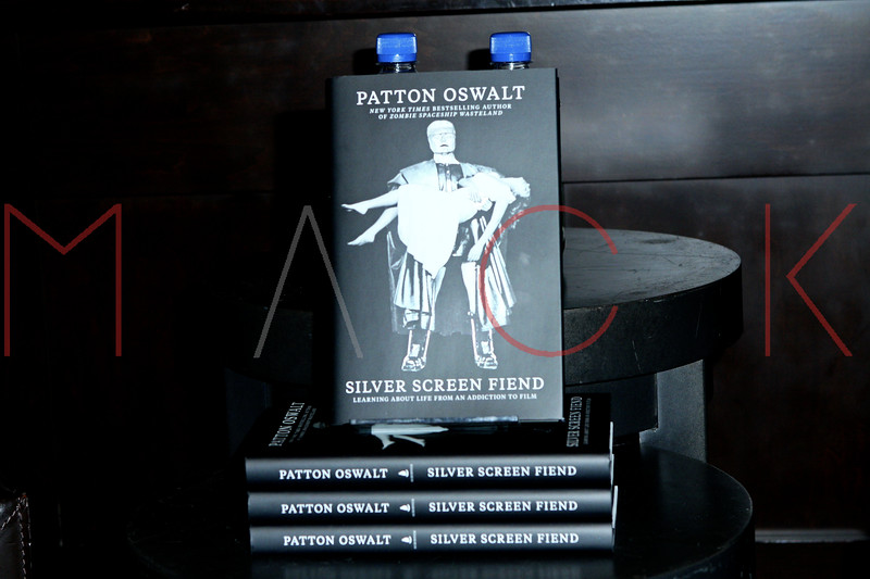 "Patton Oswalt's signing Of His Book ""Silver Screen Fiend: Learning About Life From an Addiction to Film"", New York, USA"
