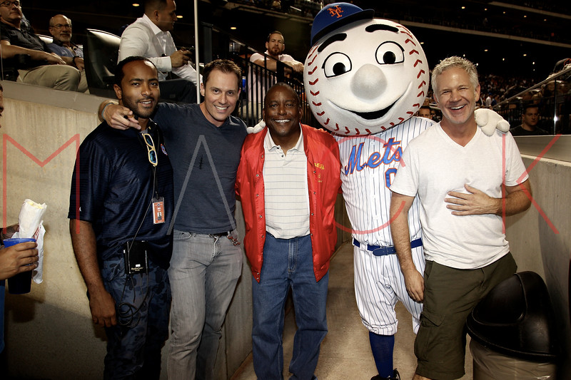 Los Angeles Dodgers Vs. The New York Mets game, Queens, USA
