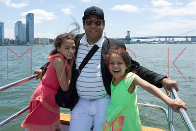 NEW YORK, NY - JUNE 21:  Father's Day Cruise on New York Health and Racquet Yacht on June 21, 2015 in New York City.