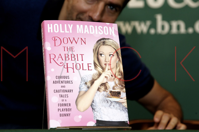"""book signing for the book """"Down the Rabbit Hole: Curious Adventures and Cautionary Tales of a Former Playboy Bunny"""", New York, USA"""