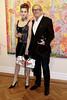 opening night of Peter Reginato: Fiction, Art Exhibit, New York, USA
