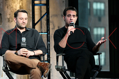 "NEW YORK, NY - MARCH 18:  AOL Build Speaker Series:  Bobby Cannavale And Dan Fogelman ""Danny Collins"" at AOL Studios In New York on March 18, 2015 in New York City."