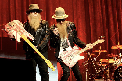 New York, NY - March 13:  The ZZ Top Concert, New York, USA.