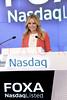 Ringing of the Nasdaq Stock Market Closing Bell, New York, USA