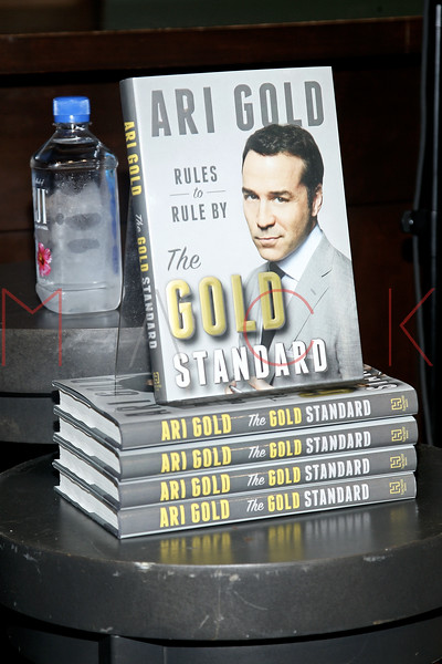 "book signing for ""The Gold Standard"", New York, USA"