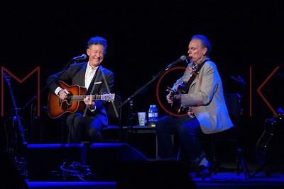 Kingston, NY - May 03:  An Acoustic Evening with Lyle Lovett and John Hiatt, Kingston, USA.