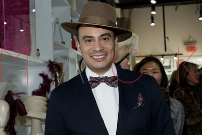 New York, NY - May 02:  The Launch of Designer Victor dE Souza's Hat Collection, New York, USA.