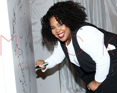 NEW YORK, NY - NOVEMBER 17:  AOL Build Series Presents Amber Riley at AOL Studios In New York on November 17, 2015 in New York City.
