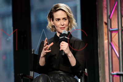 NEW YORK, NY - NOVEMBER 17:  AOL Build Series Presents Sarah Paulson at AOL Studios In New York on November 17, 2015 in New York City.