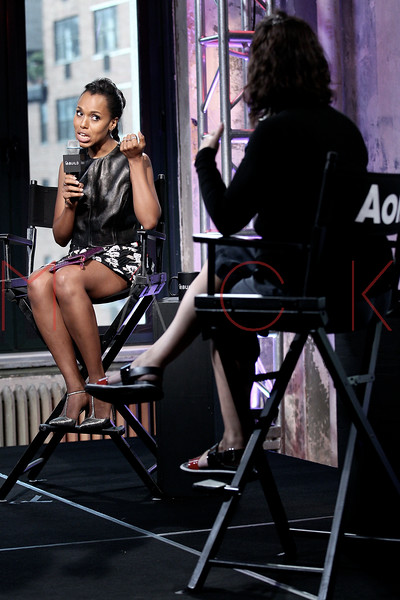 "BUILD Speaker Series: Discussing the new season of ""Scandal"" and her work with Allstate's Foundation ""Purple Purse"", New York, USA"