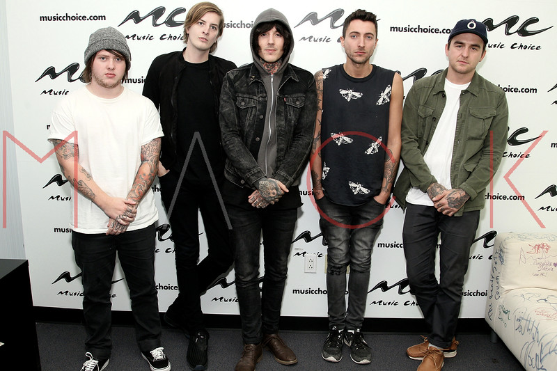 Music Choice photo op, New York, USA