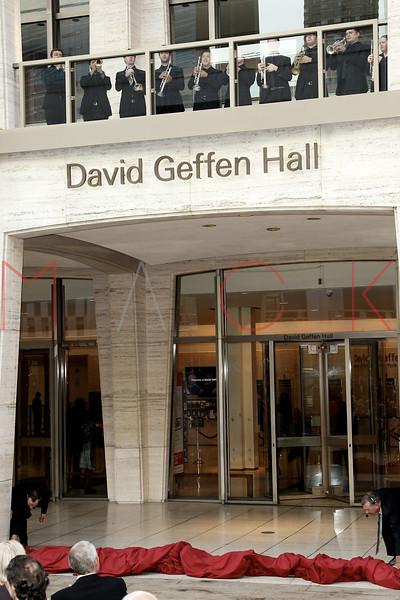 David Geffen Hall Renaming Ceremony & The New York Philharmonic's 2015-16 Opening Gala Concert, New York, USA