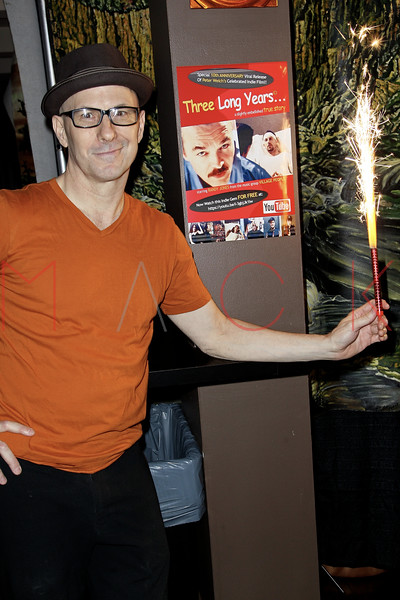 """10th Anniversary Viral Release Party For Peter Welch's Film """"Three Long Year..."""", New York, USA"""